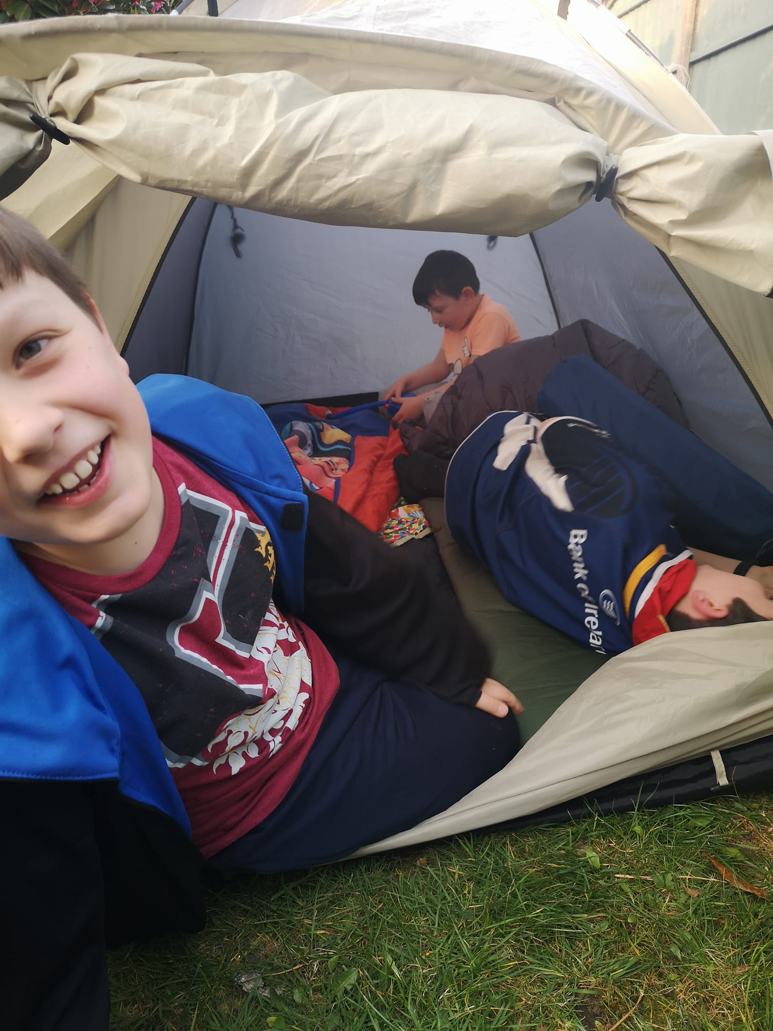 Easter Camp @ Home with 1st Chorley Methodist Scout Group