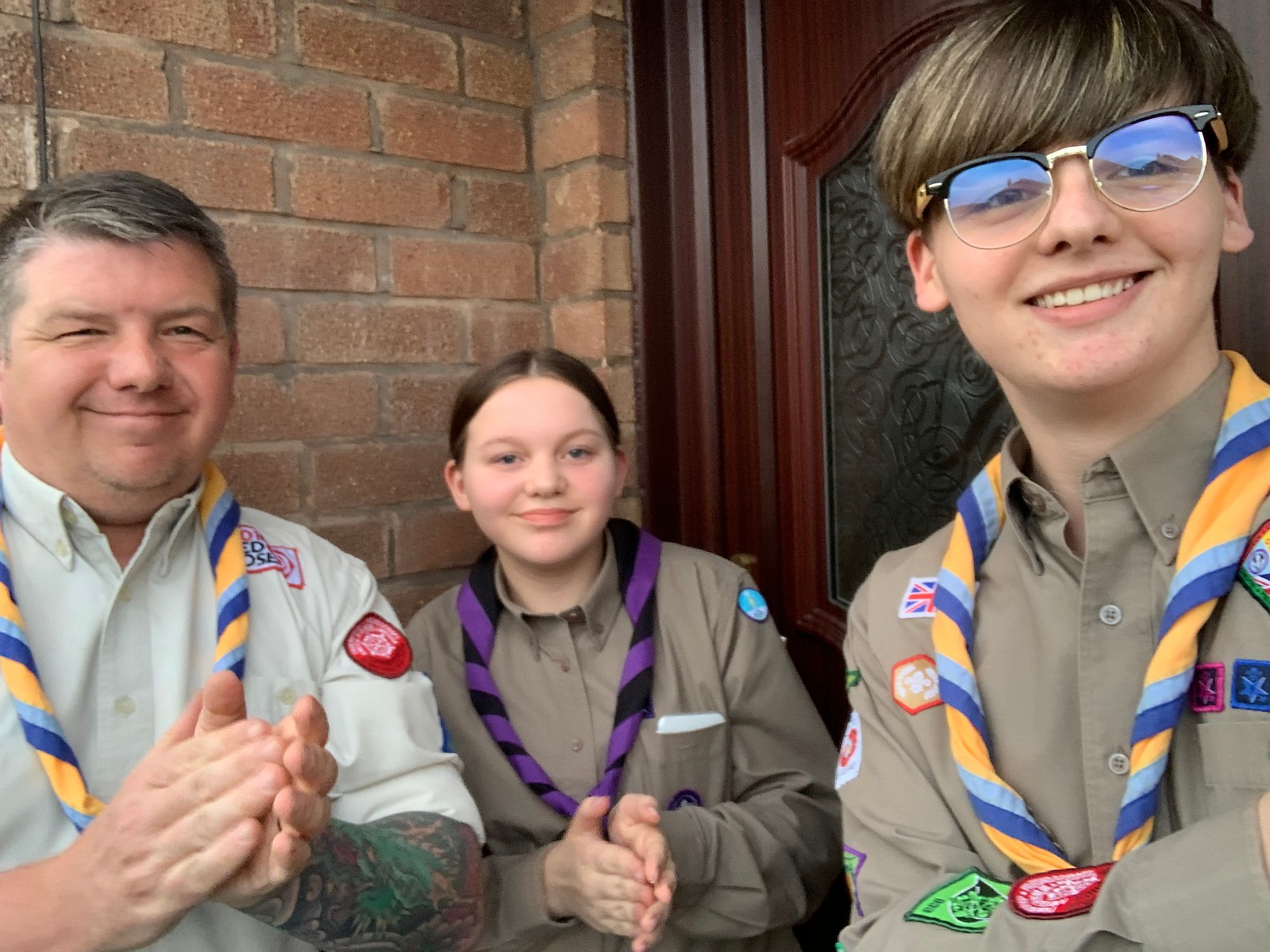 St George's Day – WestLancs Scouts Clap for Carers